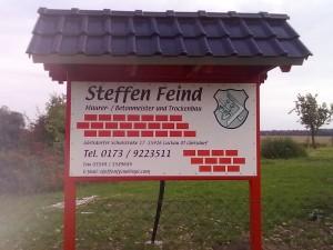 Maurer-Betonmeister Steffen Feind
